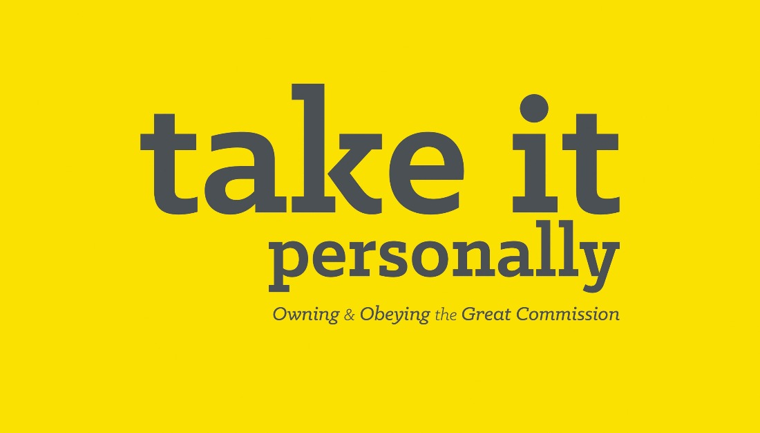 Messages from Take It Personally Sermon Series