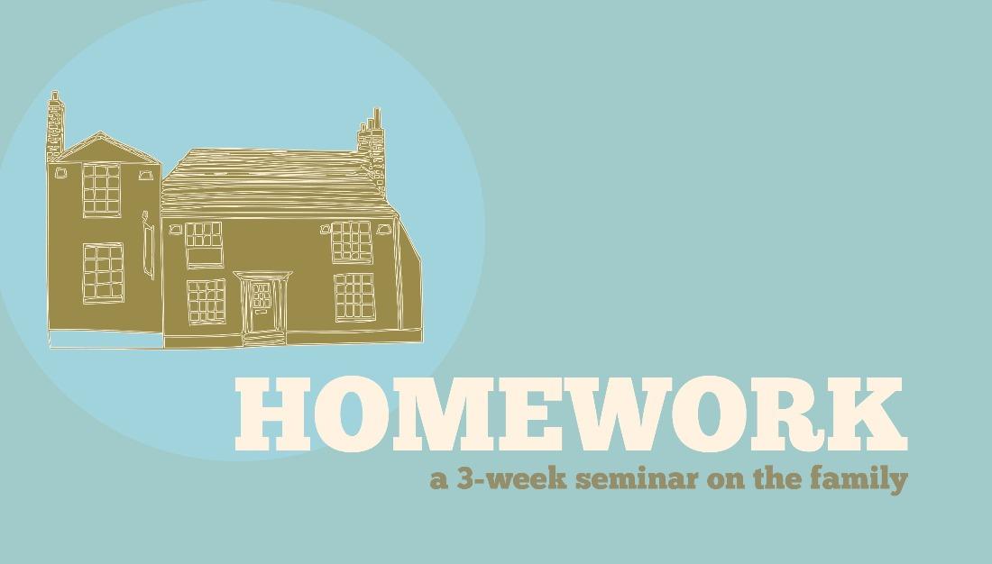 Image: Homework Sermon Series