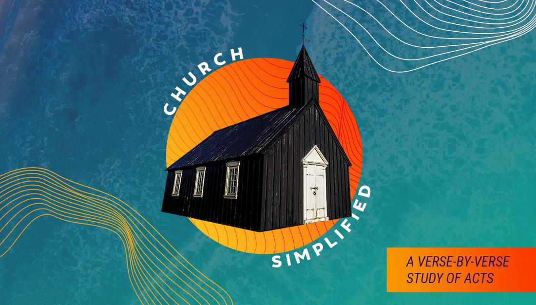 Image: Church Simplified Sermon Series