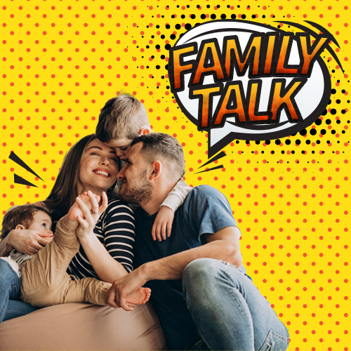 Image: Family Talk Message Series Cover